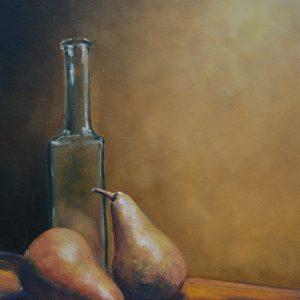 Bottle & Pears